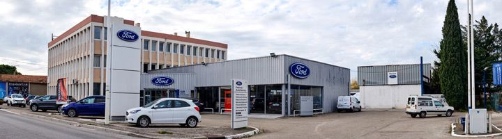 Le r seau de concessionnaires 103 distributeurs for Garage ford avignon cap sud